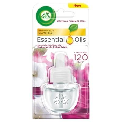 Air Wick Essential Oils księżycowa lilia - zapas 19ml