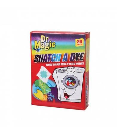 Dr Magic chusteczki wyłapujące kolor 20 szt.