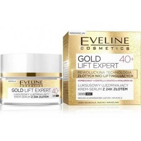 Eveline Gold Lift Expert 40+ Ujędrniający krem 24k złota dzień/noc 50ml