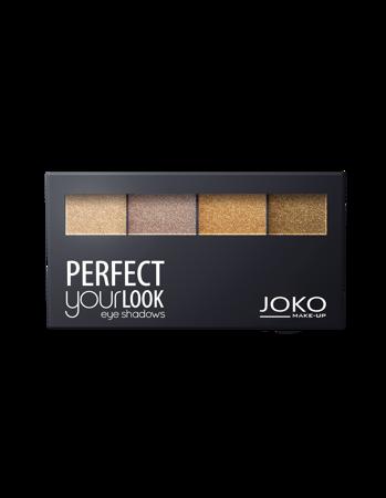 JOKO Cienie prasowane do powiek QUATTRO PERFECT YOUR LOOK 402